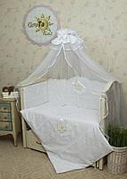 Комплект постельного белья для новорожденных Нежность