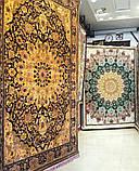 Купить классический ковер золотого цвета, ковры золотая классика, богатые ковры Киев, фото 3
