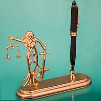 Подарочная ручка «Фемида» с кристаллами Сваровски