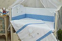 Бортики в детскую кроватку Рандеву