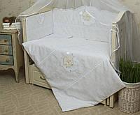 Защитный бампер (бортики) в кроватку Нежность