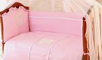 Сменное постельное белье в кроватку Амур