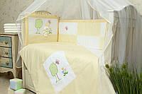Комплект сменного постельного белья в кроватку Игрушка