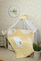 Комплект сменного постельного белья в кроватку Солнышко