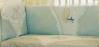 Сменный набор постельное белья в детскую кроватку Золотая Рыбка