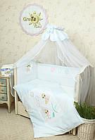 Детский комплект постельного белья в кроватку Бусинка