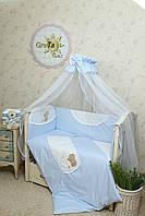 Детский постельный комплект в кроватку Солнышко