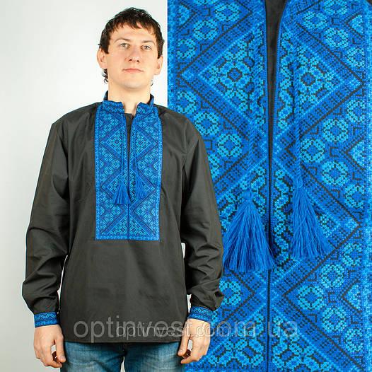 Чорна сорочка вишиванка