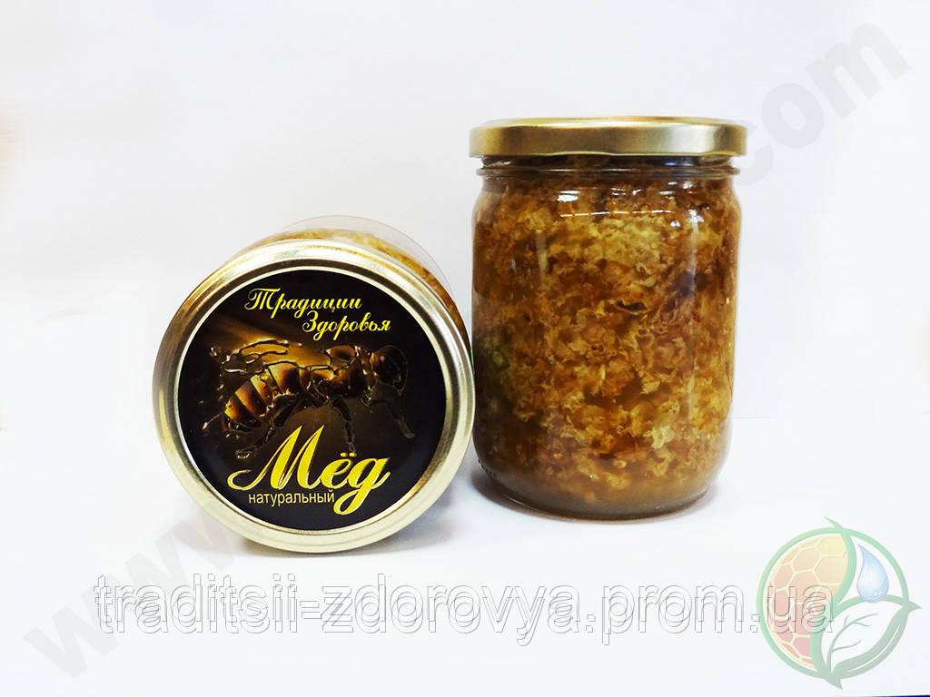 Забрус (восковые крышечки), сотовый мёд