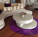 Фиолетовый винтажный ковер повышенной износостойкости для кухни и кабинета, фото 4