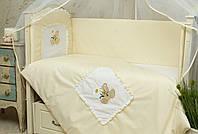 Защита в кроватку для новорожденных Мишка