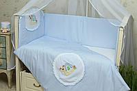 Защитное ограждение в детскую кроватку Улитка, фото 1