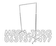 Стойка L1.25 25×25 (центрозальная) цвет металлик.черный