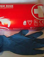 Перчатки латексные защитные HIGH RISK  (25 пар)