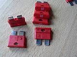 Предохранитель штыревой евростандарт 10А MTA автомобильный красный, фото 2