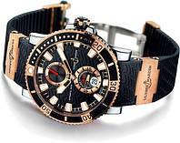 Часы Ulysse Nardin Maxi Marine Diver Black  58 (копия)
