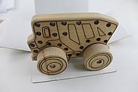 Шнурівка-каталка Вантажівка
