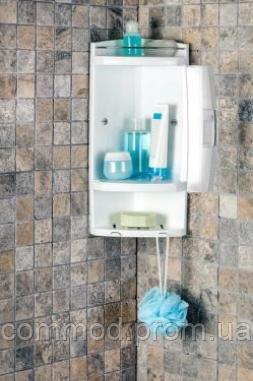 Угловой шкаф в ванную Primanova