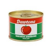 Томатная паста концентрированная DawtonaTomato Paste 70 г, фото 1
