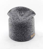 Трикотажная шапка двойная детская 52-57р оптом