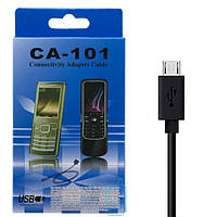 USB - Micro USB шнур Nokia CA-101 черный