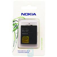 Аккумулятор Nokia BL-6F 1200 mAh N95, N78, N79 AAA класс