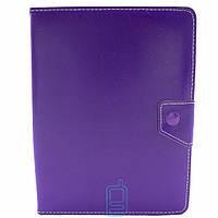 Чехол-книжка 8 дюймов уголки-магнит NEW Фиолетовый