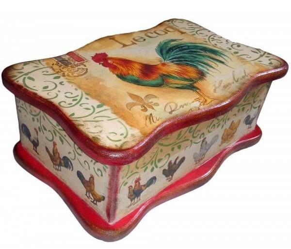 Скринька для пакетиків чаю