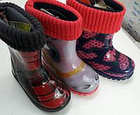 Детские резиновые сапоги Demar (со съёмным носком)
