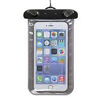 Водонепроницаемый чехол для смартфона до 5 дюймов Underwater Gray