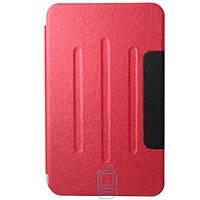 Чехол-книжка для Samsung Galaxy Tab 3 SM-T110 пластиковая накладка Folio Cover Красный