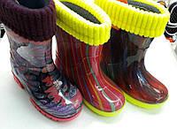 Детские резиновые сапоги Demar качественные