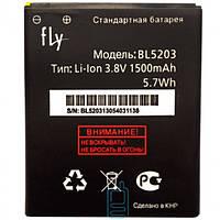 Аккумулятор Fly BL5203 1500 mAh Quad Miracle 2 IQ442 AAAA/Original тех.пакет