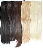 Чудо-прядь накладная на клипсах из искусственных волос