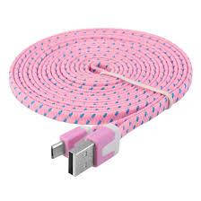 Micro USB Cable Dataline (Pink), фото 2