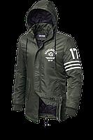 Парка мужская осенняя стильная куртка размеры 48-54