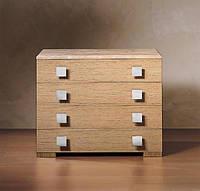 Комод с четырьмя ящиками в цвете Дуб, фото 1