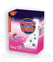 Бесфосфатный стиральный порошок Power Wash Professional универсальный, 3 кг