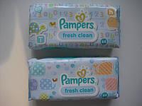 Салфетки влажные детские PAMPERS 64 шт.(Памперс) Baby Fresh Clean  (Бэби фреш клин)
