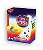 Бесфосфатный стиральный порошок Power Wash Professional для цветных тканей, 3 кг