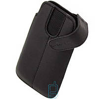 Чехол футляр с застежкой для Nokia ASHA 200 LGD черный