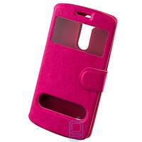 Чехол-книжка два окна LG G3 mini розовый