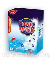 Бесфосфатный стиральный порошок Power Wash Professional для белых тканей, 5 кг