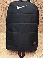 Рюкзак найк nike/SB Новые модели с кожаным дном Спортивный городской стильный только ОПТ, фото 1