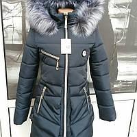 Зимняя подростковая куртка для девочек парка американка