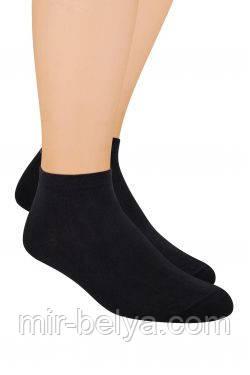 Мужские спортивные носки Steven черные