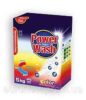 Бесфосфатный стиральный порошок Power Wash Professional для цветных тканей, 5 кг