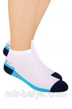 Мужские спортивные носки Steven короткие