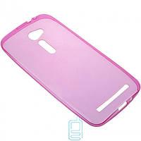 Чехол силиконовый цветной ASUS ZenFone 2 5″ розовый