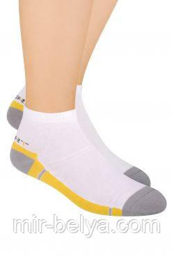 Мужские спортивные носки Steven укороченные
